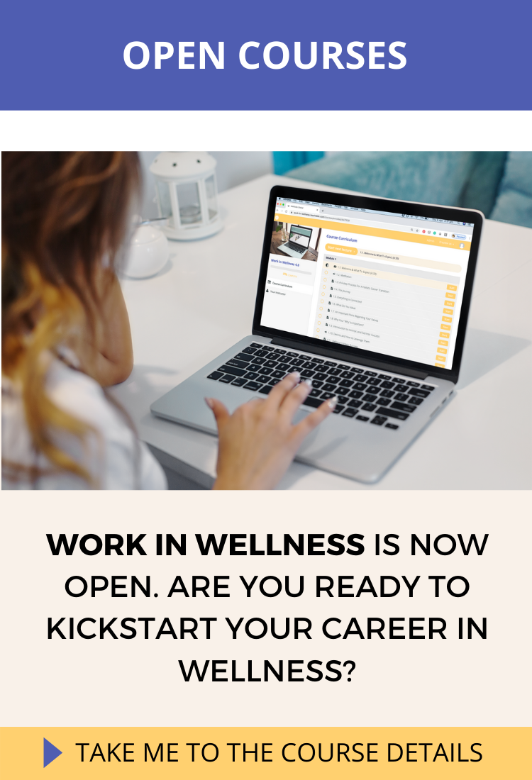 Work in Wellness Online Course
